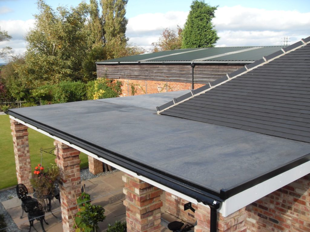 R d roofing contractors modern flat roof specialists for Flat roof modern