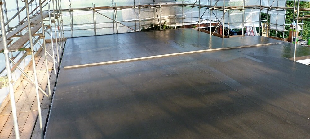 grp roof complete