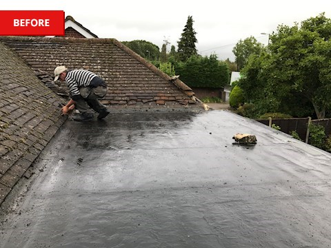Classicbond EPDM Flat Roof System